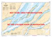 Sault-au-Cochon à/to Québec Canadian Hydrographic Nautical Charts Marine Charts (CHS) Maps 1317