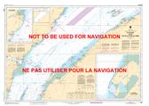 Île du Bic au/to Cap de la Tête au Chien Canadian Hydrographic Nautical Charts Marine Charts (CHS) Maps 1320