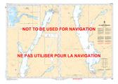 Lac Memphrémagog Canadian Hydrographic Nautical Charts Marine Charts (CHS) Maps 1360