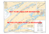 Montréal to/à Lake/Lac Ontario Canadian Hydrographic Nautical Charts Marine Charts (CHS) Maps 1400