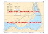 Canal de la Rive Sud Canadian Hydrographic Nautical Charts Marine Charts (CHS) Maps 1429