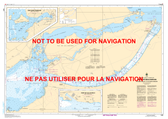 Canal de Beauharnois Canadian Hydrographic Nautical Charts Marine Charts (CHS) Maps 1431