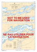 Île St-Régis to/à Croil Islands Canadian Hydrographic Nautical Charts Marine Charts (CHS) Maps 1433