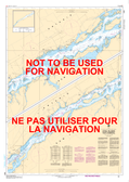 Croil Islands to/à Cardinal Canadian Hydrographic Nautical Charts Marine Charts (CHS) Maps 1434