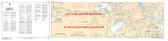 Ottawa to/à Smiths Falls Canadian Hydrographic Nautical Charts Marine Charts (CHS) Maps 1512