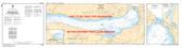 Britannia Bay à/to Chats Falls Canadian Hydrographic Nautical Charts Marine Charts (CHS) Maps 1550
