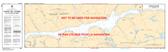 Rapides-des-Joachims au/to Lac la Cave Canadian Hydrographic Nautical Charts Marine Charts (CHS) Maps 1554