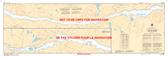 Lac la Cave Canadian Hydrographic Nautical Charts Marine Charts (CHS) Maps 1555