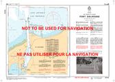 Port Dalhousie Canadian Hydrographic Nautical Charts Marine Charts (CHS) Maps 2044