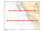 Juan de Fuca Strait to/à Dixon Entrance Canadian Hydrographic Nautical Charts Marine Charts (CHS) Maps 3000