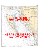Queen Charlotte Sound to/à Dixon Entrance Canadian Hydrographic Nautical Charts Marine Charts (CHS) Maps 3002