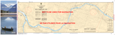 Waneta to/à Hugh Keenleyside Dam Canadian Hydrographic Nautical Charts Marine Charts (CHS) Maps 3055