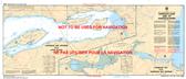 Harrison Lake and/et Harrison River Canadian Hydrographic Nautical Charts Marine Charts (CHS) Maps 3061