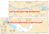 Pitt River and/et Pitt Lake Canadian Hydrographic Nautical Charts Marine Charts (CHS) Maps 3062