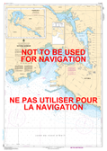 Victoria Harbour Canadian Hydrographic Nautical Charts Marine Charts (CHS) Maps 3412