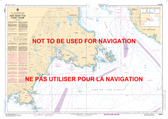 Race Rocks to/à D'Arcy Island Canadian Hydrographic Nautical Charts Marine Charts (CHS) Maps 3440