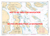 Haro Strait, Boundary Pass and/et Satellite Channel Canadian Hydrographic Nautical Charts Marine Charts (CHS) Maps 3441
