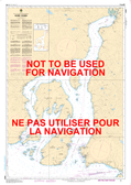 Howe Sound Canadian Hydrographic Nautical Charts Marine Charts (CHS) Maps 3526