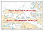 Broughton Strait Canadian Hydrographic Nautical Charts Marine Charts (CHS) Maps 3546