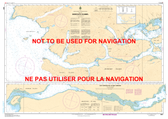 Skidegate Channel Canadian Hydrographic Nautical Charts Marine Charts (CHS) Maps 3891
