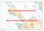 Malacca Passage to/à Bell Passage Canadian Hydrographic Nautical Charts Marine Charts (CHS) Maps 3956