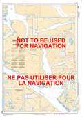 Principe Channel Central Portion/Partie Centrale and/et Petrel Channel Canadian Hydrographic Nautical Charts Marine Charts (CHS) Maps 3985