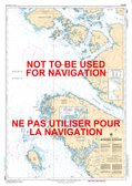 Browning Entrance Canadian Hydrographic Nautical Charts Marine Charts (CHS) Maps 3986