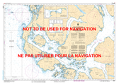 Kitkatla Channel and/et Porcher Inlet Canadian Hydrographic Nautical Charts Marine Charts (CHS) Maps 3987