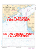 Approaches to / Approches à Bay of Fundy / Baie de Fundy Canadian Hydrographic Nautical Charts Marine Charts (CHS) Maps 4011
