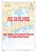 Barren Island to / à Taylors Head Canadian Hydrographic Nautical Charts Marine Charts (CHS) Maps 4235