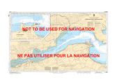 Rivière Ristigouche / Restigouche River Canadian Hydrographic Nautical Charts Marine Charts (CHS) Maps 4426