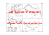 Plans: Vicinity of Canada Bay / Environs de Canada Bay Canadian Hydrographic Nautical Charts Marine Charts (CHS) Maps 4506