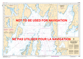 Head of / Fond de Placentia Bay Canadian Hydrographic Nautical Charts Marine Charts (CHS) Maps 4839