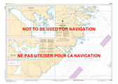 Green Bay to / à Double Island Canadian Hydrographic Nautical Charts Marine Charts (CHS) Maps 5030