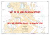 McLelan Strait Canadian Hydrographic Nautical Charts Marine Charts (CHS) Maps 5064