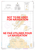 Gray Strait and / et Button Islands Canadian Hydrographic Nautical Charts Marine Charts (CHS) Maps 5065