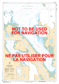 Rivière George Canadian Hydrographic Nautical Charts Marine Charts (CHS) Maps 5335