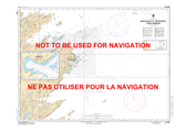 Approach to/ Approches à Sorry Harbor Canadian Hydrographic Nautical Charts Marine Charts (CHS) Maps 5340