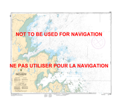 Approches à/Approaches to Hopes Advance Bay Canadian Hydrographic Nautical Charts Marine Charts (CHS) Maps 5348