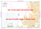 Approches à/Approaches to Rivière George Canadian Hydrographic Nautical Charts Marine Charts (CHS) Maps 5373