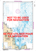 Approches à/Approaches to Rivière Koksoak Canadian Hydrographic Nautical Charts Marine Charts (CHS) Maps 5376