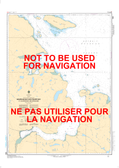 Wakeham Bay and Fisher Bay et les Approches/and Approaches Canadian Hydrographic Nautical Charts Marine Charts (CHS) Maps 5390