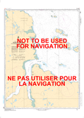 Douglas Harbour et les Approches/and Approaches Canadian Hydrographic Nautical Charts Marine Charts (CHS) Maps 5391