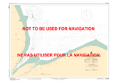 Cape Tatnam to/à Port Nelson Canadian Hydrographic Nautical Charts Marine Charts (CHS) Maps 5406