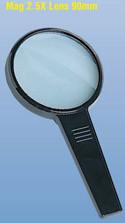 Magnifier 2.5 x Lens 90mm DK003