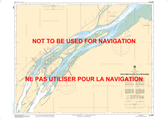Ship Sands Island to/à Moosonee Canadian Hydrographic Nautical Charts Marine Charts (CHS) Maps 5861