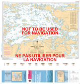 Kenora to/à Aulneau Peninsula (Northern Portion / Partie nord) Canadian Hydrographic Nautical Charts Marine Charts (CHS) Maps 6212