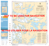 Whitefish Bay Canadian Hydrographic Nautical Charts Marine Charts (CHS) Maps 6213