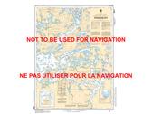 Sabaskong Bay Canadian Hydrographic Nautical Charts Marine Charts (CHS) Maps 6214