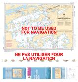 Kenora, Rat Portage Bay Canadian Hydrographic Nautical Charts Marine Charts (CHS) Maps 6218